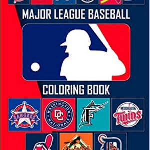 Major League Baseball Coloring Book